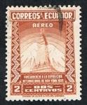 Sellos de America - Ecuador -  EXPOSICIÓN INTERNACIONAL DE NEW YORK 1.939