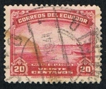 Stamps Ecuador -  PAISAJE DE LA COSTA