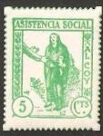 Stamps Spain -  ALCOY ASISTENCIA SOCIAL