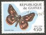Stamps : Africa : Guinea :  Mariposa
