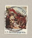 Stamps United States -  cuadro por Turnbull