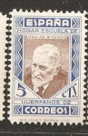 Stamps Spain -  PEDAGOGOS