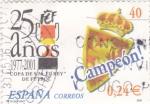 Stamps Spain -  25 años FEF Copa de s.m.