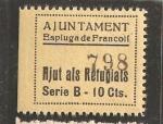 Stamps Spain -  ESPLUGA DE FRANCOLI