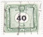 Sellos de Europa - Hungría -  CIFRAS