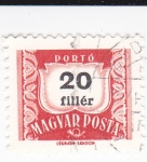 Stamps : Europe : Hungary :  CIFRAS