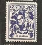 Stamps Spain -  CERDANYOLA ASISTENCIA SOCIAL