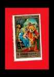 Stamps United Arab Emirates -  NACIMIENTO DE CRITO