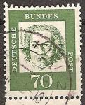 Sellos de Europa - Alemania -  Ludwig van Beethoven.