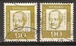 Sellos de Europa - Alemania -  Franz Oppenheimer.