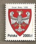 Stamps Poland -  Escudo nacional
