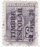 Stamps Ecuador -  Timbre Escolar