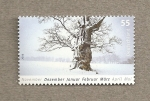 Stamps Germany -  Estaciones del año: Invierno