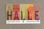 Sellos de Europa - Alemania -  1200 Aniv. de la ciudad Halle