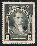 Stamps Ecuador -  VICENTE ROCAFUERTE