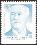 Stamps Chile -  JUAN LUIS SANFUENTE EL PRESIDENTE
