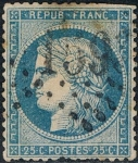 Stamps Europe - France -  CERES 1871-75. Y&T Nº 60