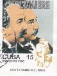 Stamps Cuba -  CENTENARIO DEL CINE  - Hnos. Lumiere