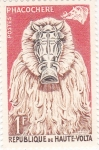 Stamps Burkina Faso -  Máscaras