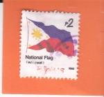 Stamps : Asia : Philippines :  Bandera Nacional