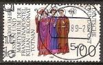 Sellos del Mundo : Europa : Alemania : 1300a.Aniv de la muerte de los santos Kilian, Colman y Totnan (misioneros irlandeses en Franconia)