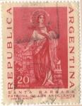 Stamps Argentina -  Santa Barbara