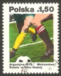 Sellos de Europa - Polonia -  2384 - Mundial de fútbol Argentina