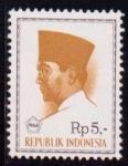 Sellos del Mundo : Asia : Indonesia : Achmed Sukarno