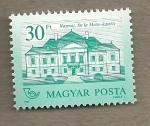 Stamps Hungary -  Palacio Esterhazy