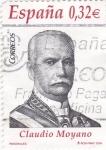 Stamps Spain -  personaje- Claudio Moyano, político    (k)