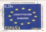 Sellos de Europa - España -  Constitución Europea    (k)