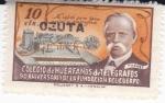 Stamps : Europe : Spain :  Colegio de Huerfanos de Telégrafos, 50 Aniversario de la Fundación del cuerpo-NO VALIDO PARA TASA PO