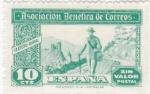Stamps : Europe : Spain :  Asociación Benéfica de Correos-Cartero rural-Sin valor postal-     (k)