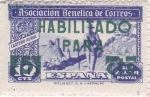 Stamps Spain -  Asociación Benéfica de Correos-HABILITADO-Cartero rural-Sin valor postal-     (k)