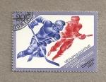 Stamps Russia -  Olimpiadas invierno 1984 Sarajevo