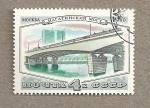 Sellos de Europa - Rusia -  Puente en Moscú