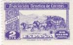 Sellos del Mundo : Europa : España : Asociación Benéfica de Correos-Postas-Sin valor postal-     (k)