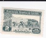 Sellos de Europa - España -  Asociación Benéfica de Correos-Postas-Sin valor postal-     (k)