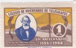 Stamps : Europe : Spain :  Colegio de Huerfanos de Telégrafos, 89 Aniversario de la Fundación del cuerpo-NO VALIDO PARA TASA PO