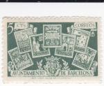sellos de Europa - España -  Ayuntamiento de Barcelona- SIN VALOR POSTAL-    (k)