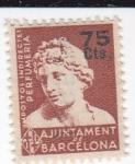 Sellos de Europa - España -  Impostos Indirectes de Perfumería-Ajuntament de Barcelona- SIN VALOR POSTAL-   (k)