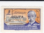 Sellos de Europa - España -  Colegio de Huerfanos de Telégrafos, 50 Aniversario de la Fundación del cuerpo-NO VALIDO PARA TASA PO