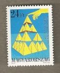 Stamps Hungary -  Congreso Mundial Matemáticos