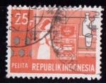 Sellos de Asia - Indonesia -  Electricidad