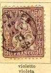 Sellos de Europa - Suiza -  Helvetia Ed 1867
