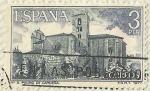 Stamps Spain -  MONASTERIO DE SAN PEDRO DE CARDEÑA