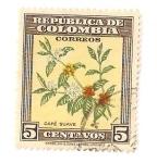 Sellos del Mundo : America : Colombia : Orquideas