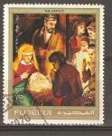 Sellos de Asia - Emiratos Árabes Unidos -  NATIVIDAD