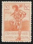 Stamps Spain -  Herald of Barcelona