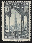 Stamps Spain -  Exposition Buildings